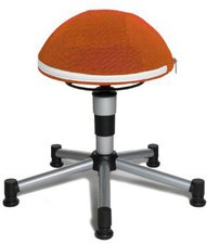 Topstar Sitness Junior Half Ball orange