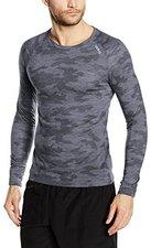 Odlo Revolution TW Warm Shirt L/S Crew Neck Planai Men camouflage / grey melange