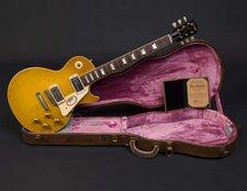 Gibson Custom 1958 Les Paul True Historic VOS Aged Vintage Lemon Burst