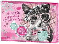 Roth Edition Roth Puzzle-Adventskalender For Girls Only