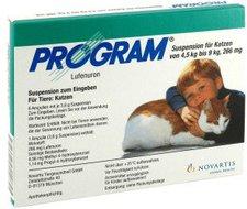 Novartis Program Suspension für Katzen von 4,5 kg bis 9 kg Ampullen (6 Stk.)