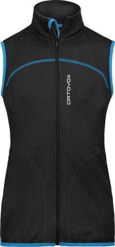 Ortovox Merino Fleece Vest Women Black Raven
