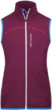 Ortovox Merino Fleece Vest Women Dark Very Berry