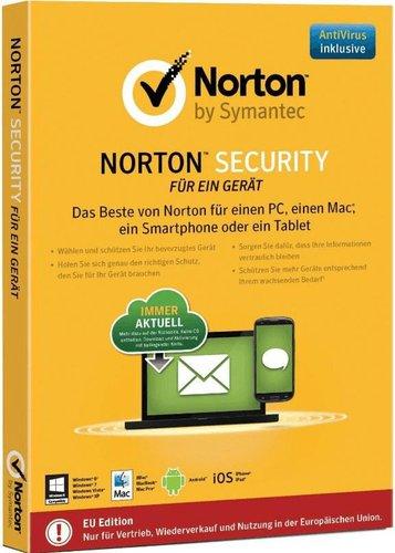 Symantec Norton Security Deluxe 3.0 (3 Geräte) (1 Jahr) (PKC)