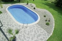 D&W Pool Lago SB 630 x 360 x 120 cm