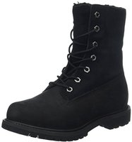 Timberland Women's Authentics Waterproof Fold-Down Boot black (C8149A)