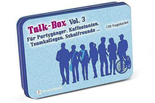Neukirchener Verlag Talk-Box Vol. 3 für Partygänger Kaffeetanten Teamkollegen