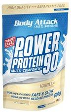 Body Attack Power Protein 90 500g Strawberry Cream