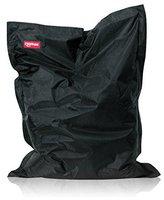 ROOMOX XXL Sitzsack 160x120cm schwarz