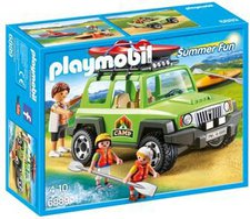 Playmobil Summer Fun Camp-Geländewagen (6889)