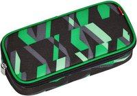 4You Pencil Case mit Geodreieck chequer green