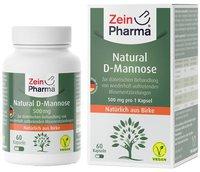 ZeinPharma Natural D-Mannose 500 mg Kapseln (60 Stk.)