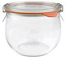 Weck Tulpen-Glas 580 ml (6 Stk.)