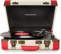 Crosley Executive White Red