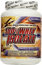 IronMaxx 100% Whey Isolate Vanille 750g