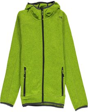 CMP Campagnolo Boy Fleece Jacket Fix Hood (3H60844)
