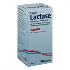 Pro Natura Lactase 12.000 FCC Kapseln (100 Stk.)