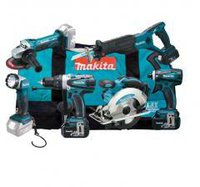 Makita DLX6011X4 Combo-Kit
