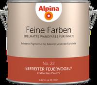 Alpina Farben Befreiter Feuervogel 2,5 l