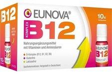 Eunova B12 Komplex Trinkfläschchen (10 x 10 ml)