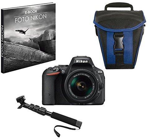 Nikon D5500 Kit 18-55 mm [Nikon VR] (schwarz)