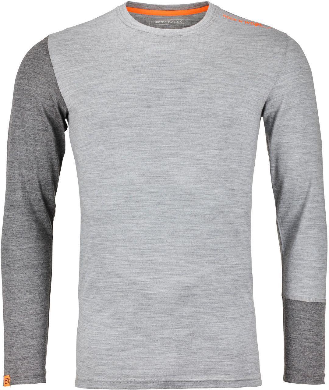 2903cc9f7b7724 Ortovox Long Sleeve 185 Merino Rock n Wool Men günstig kaufen