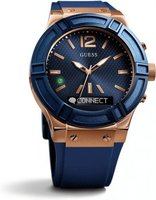 Guess Connect 45mm blau (C0001G1)
