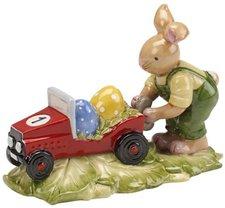 Villeroy & Boch Bunny Family Hasenjunge mit Auto 10,5 cm