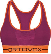 Ortovox Sport Top 185 Merino Rock'n'Wool Women dark very berry