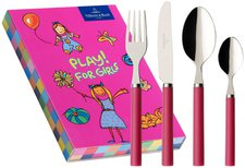 Villeroy & Boch Play! for girls Kinderbesteck 4tlg.