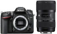 Nikon D7200 Kit 18-35 mm Sigma
