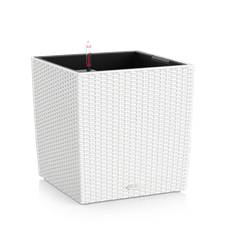 Pflanzgef. Lechuza CUBE Cottage 30 All-in-One Set weiß