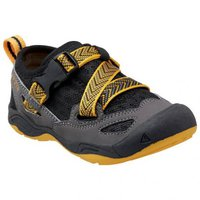 Keen Komodo Dragon Kids black/yellow
