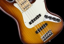 Fender American Elite Jazz V Ash Tobacco Burst