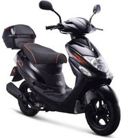 IVA Scooter New Jet Schwarz (45 km/h)