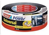 Tesa extra Power Universal Gewebeband 50m x 50mm schwarz