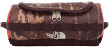The North Face Base Camp Travel Canister S brunette brown catalog print