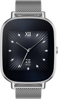 Asus ZenWatch 2 3,68cm (WI502Q) silber Milanaise-Armband