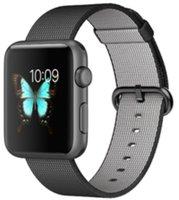 Apple Watch Sport 42mm Nylonarmband schwarz