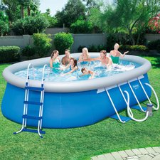Bestway Fast Set Pool 488 x 305 x 107 cm (56447)