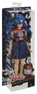 Mattel Barbie Fashionistas Curvy Sweetheart Stripes