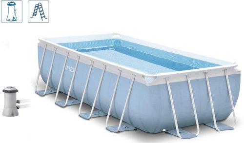 intex pools prism frame pool 400 x 200 x 100 cm 28316 bestellen. Black Bedroom Furniture Sets. Home Design Ideas