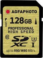 AgfaPhoto SDXC Professional High Speed Gold 128GB UHS-I U3 (10508)