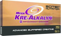 Scitec Nutrition Mega Kre-Alkalyn 120 Kapseln