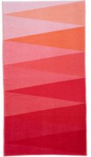 Esprit Home Strandlaken Triangle 100x180cm coral red