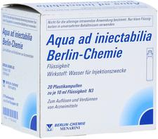 Berlin-Chemie Aqua ad iniectabilia BC Plastikampullen (20 x 10 ml)
