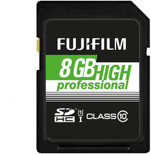 Fujinon SDHC High Professional UHS-I 8GB (4005318)