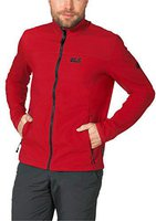 Jack Wolfskin Element Softshell JKT M Red Fire