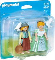 Playmobil Duo Pack Prinzessin und Magd (6843)