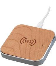 Peter Jäckel Qi Wireless Charger Woody silber